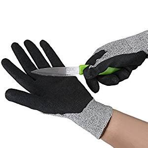 Cut Resistant Gloves Anti Cutting Food Grade Level 5 Kitchen Butcher P homegarden cut resistant gloves high performance level 5 protection en388 food grade durable