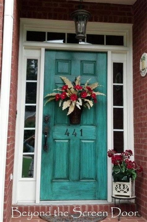 front door colors picmia a collection of turquoise doors beyond the screen door