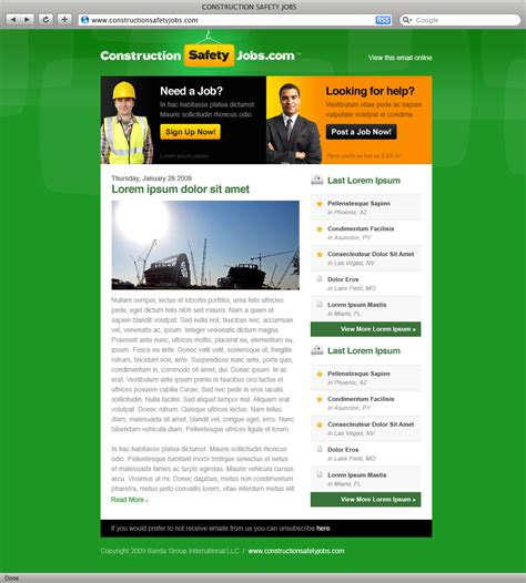 Construction Newsletter Constructionsafetyjobs Teixid 211