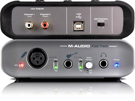 M Audio Fast Track Usb m audio fast track usb 2 171 pro audio bay