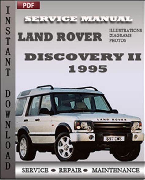motor auto repair manual 1995 land rover discovery security system land rover discovery 2 1995 service guide servicerepairmanualdownload com