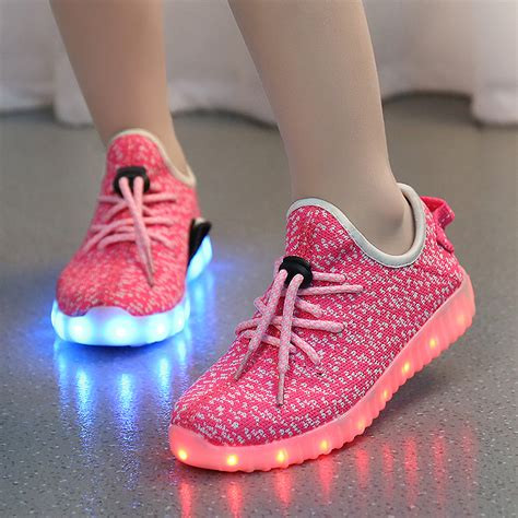 children shoes with light boys casual led shoes for