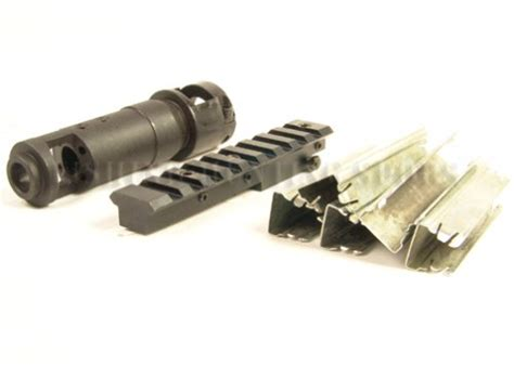Scope Mount Recoil Compensator mosin nagant m44 muzzle brake compensator rifle scope mount with 5 free gun