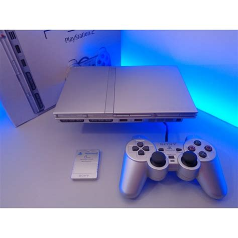 Play Station 2 playstation 2 slim pal silver playstation customs