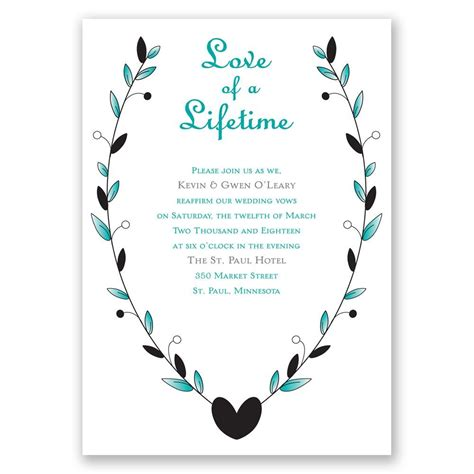 Wedding Vows Renewal by Sle Invitation Renewal Wedding Vows Choice Image