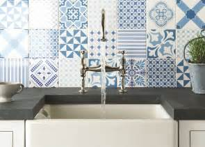 blue and white backsplash tiles top 15 patchwork tile backsplash designs for kitchen