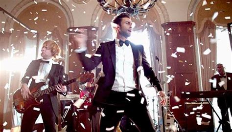 maroon 5 video maroon 5 crashes weddings for quot sugar quot music video