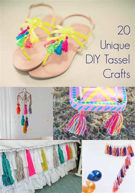 20 diy tassel crafts you ll want to make diy