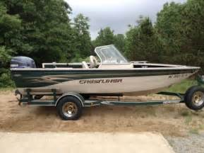 boats for sale in whitehall mi 2001 17 foot crestliner superhawk fishing boat for sale in