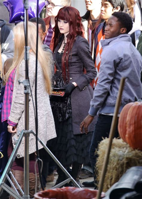 monsterville the cabinet of souls katherine mcnamara on the set of monsterville the cabinet