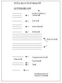 Business Letter Style Activity B Letters