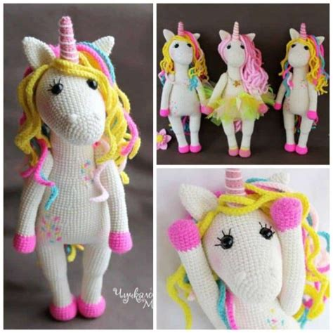Super Cute Unicorn Crochet Patterns   The WHOot