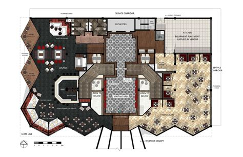 layout of lobby in hotel hotel lobby floor plan design plan pinterest plan