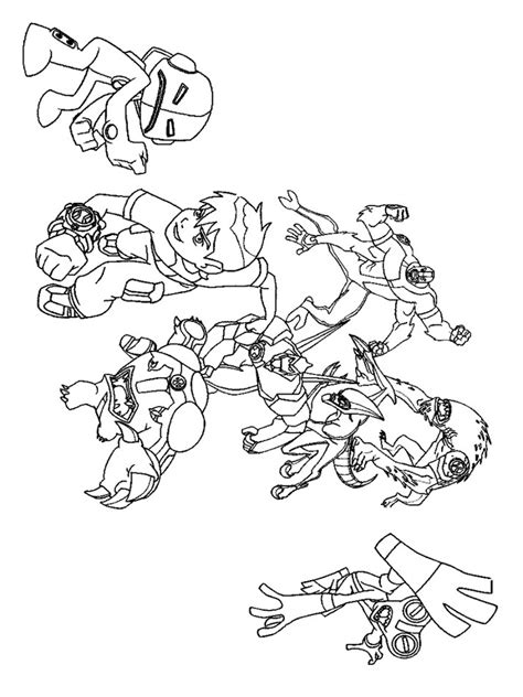 pages ben 10 ultimate ben 10 ultimate coloring pages free printable ben