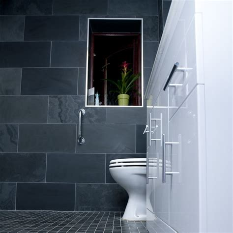 black slate bathroom floor brazilian black honed slate bathroom floor wall tiles