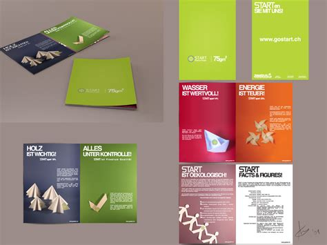 How To Make A Paper Brochure - start paper brochure by onecrazydiamond on deviantart