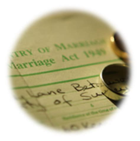 Marriage Records Guernsey Uk Official Records Replacement Birth Marriage Or Certificates Uk