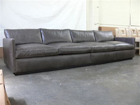 12 foot sofa 12ft dexter leather sofa in glove timberwolf the