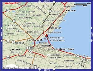 burlington towers map directions
