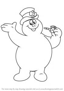 Bolpoin Drawing Snowman 0 1 learn how to draw frosty from frosty the snowman frosty