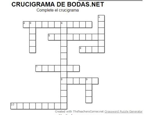 preguntas de español con respuestas el crucigrama 161 resuelve el crucigrama de bodas net foro