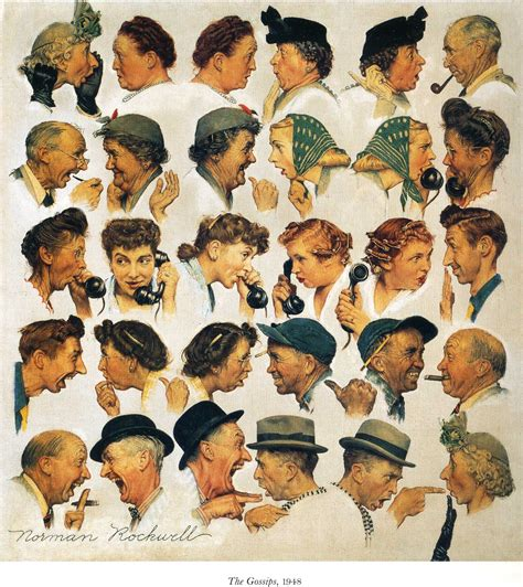 norman the the gossips norman rockwell wikiart org encyclopedia of visual arts