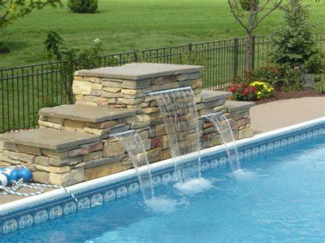 diy pool waterfall diy pool waterfalls kits interior decor
