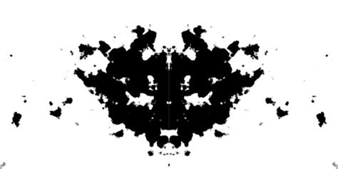 pattern psychology test post processing rorschach ink blot aka psychology test