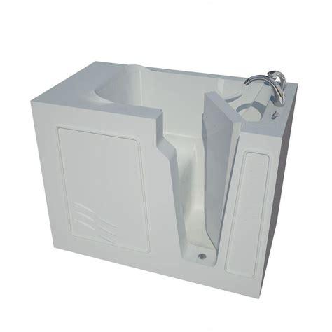 heated whirlpool bathtubs universal tubs nova heated 4 4 ft walk in non whirlpool
