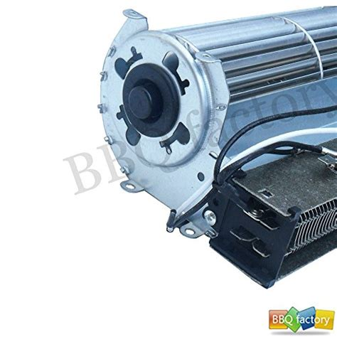bbq factory 174 replacement fireplace fan blower with heating