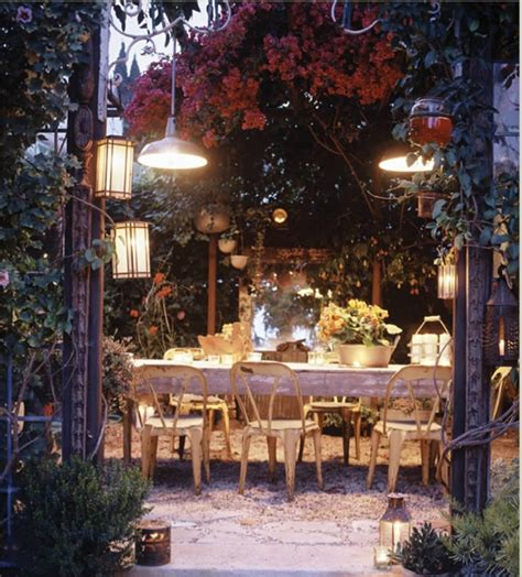 Patio Dining Lights Porcelain Pendant Farm Lights Revive Outdoor Dining Area