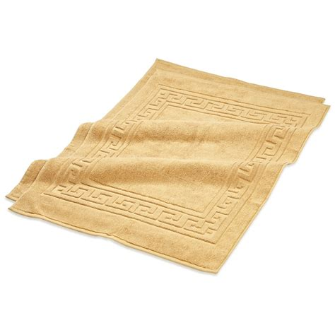 Golds Mats by Premium Staple Cotton Bath Mat Set 22x35 900 Gram