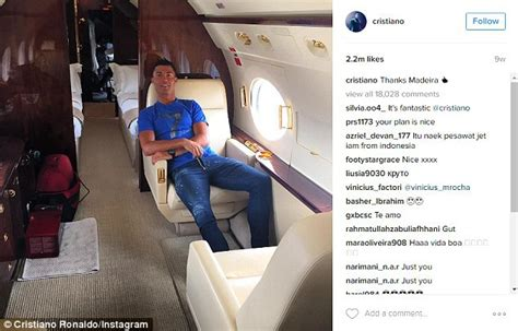 cristiano ronaldos private jet reportedly crashes in