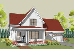 Farmhouse Plan by Simple Farmhouse Plan With Wrap Around Porch Main House