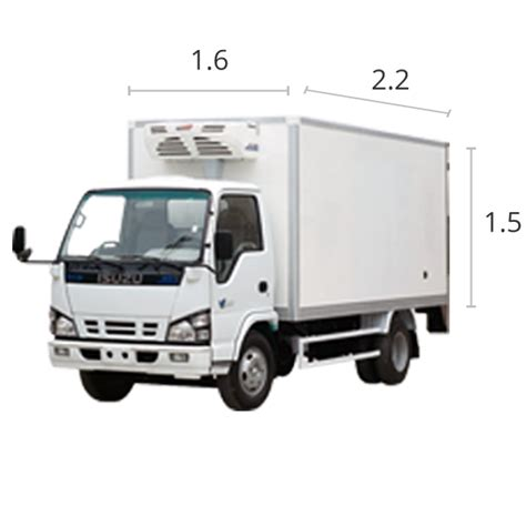 Jual Freezer Box Truk kapasitas ukuran volume dan muatan truk kargo co id