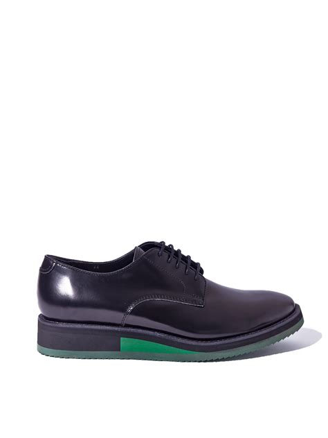 acne studios shoes lyst acne studios mens kaiden shoes in blue for