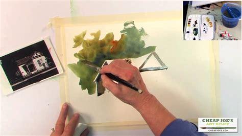 cheap joe s watercolor tutorial pat weaver watercolor techniques creating shadow