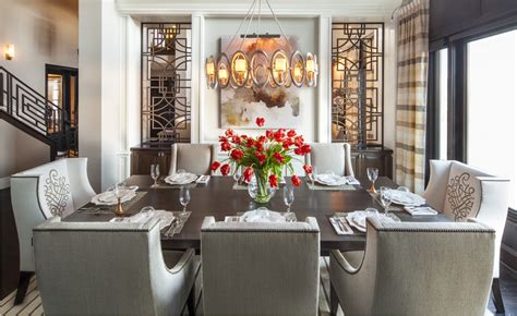 htons inspired luxury dining room 1 before and after san diego interior designers