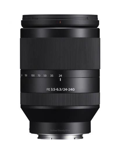 Sony Fe 24 240mm F 3 5 6 3 Oss sony fe 24 240mm f 3 5 6 3 oss lens