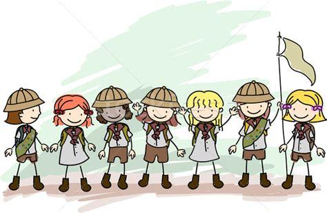 doodle scout scouts doodle vector illustration 169 lenm 748274