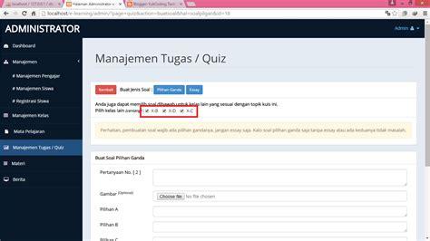 membuat web untuk ujian online download source code gratis bisa di edit aplikasi e