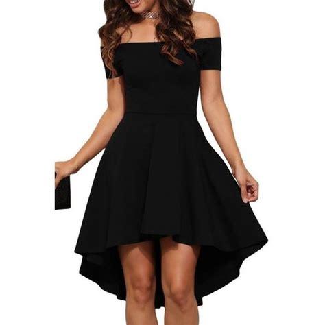Gs Dress Offshoulder Black Floral black shoulder cocktail skater dress 81