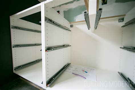 drawer slides for kitchen cabinets ikea kitchen cabinet installation