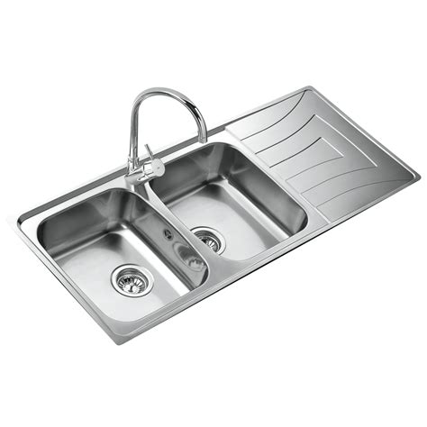 doppio lavello cucina teka 2 lavabo doppio lavello acciaio inox incasso cucina