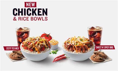Box Rice Bowl fast food news kfc chicken rice bowls the impulsive buy