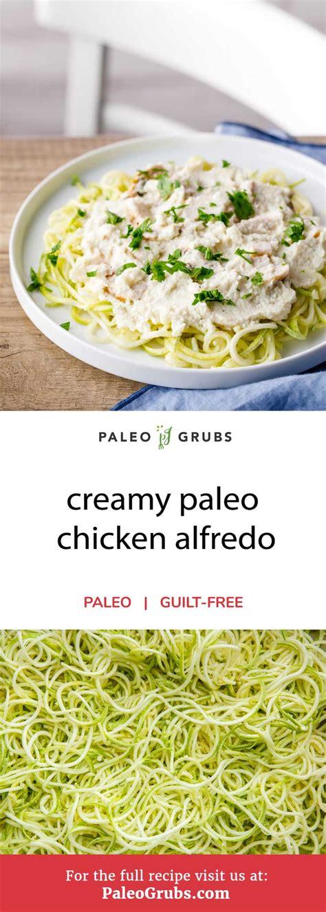 Olive Garden Chicken Alfredo Calories Paleo Chicken Alfredo Paleo Grubs