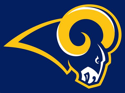 la rams colors current rams logo with colors losangelesrams