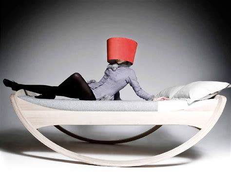 rocking bed for adults 26 cool and unusual bed designs bored panda