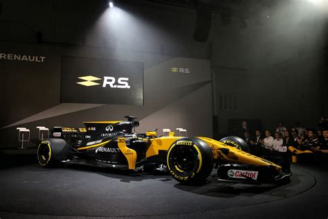 F1 Racing 17 all new renault formula 1 car for 2017 season unveiled w