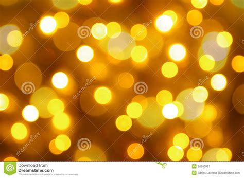 yellow tree lights background stock image image 34545951